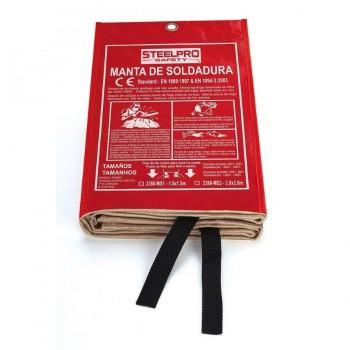 MANTA DE SOLDADURA STEELPRO 2388-MS1 (100X150cm)