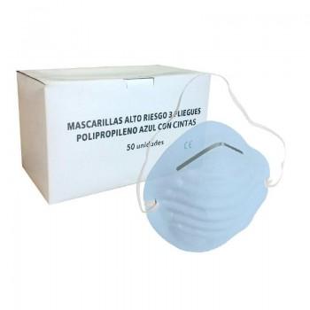 MASCARILLA POLIPROPILENO TIPO CONCHA 64710