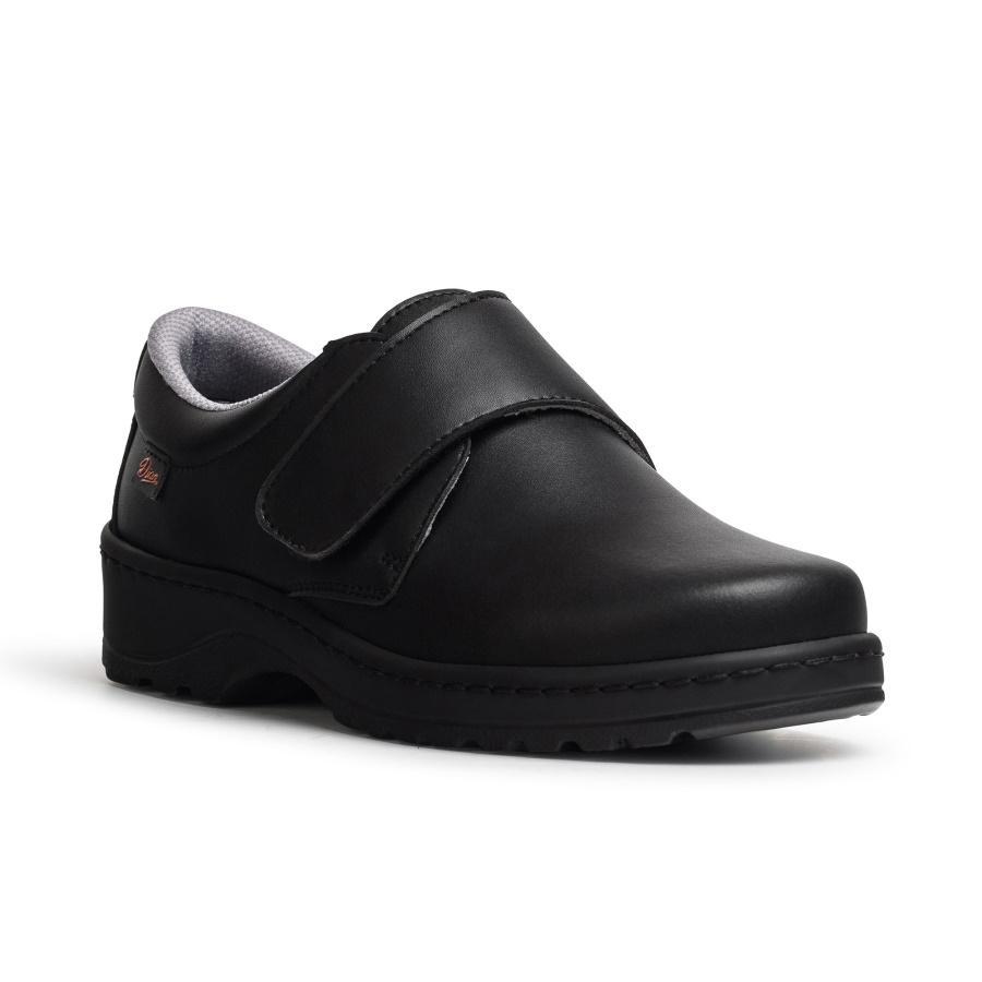 DIAN Flexible Negro - Zapato de Seguridad con Puntera - Talla 46 hYK0N
